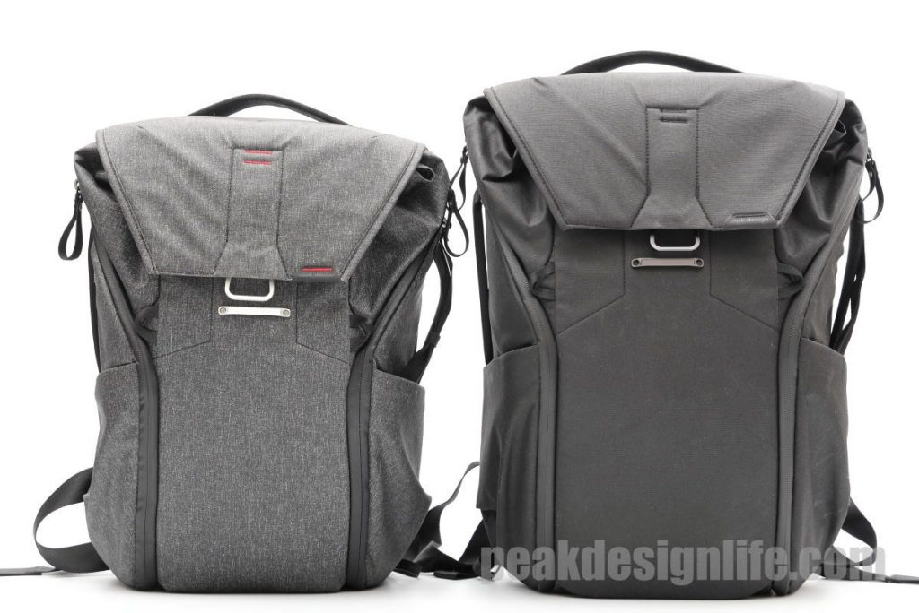 20Lと30Lの比較 ピークデザインのカメラバッグ エブリデイバックパック Peak Design Everyday Backpack