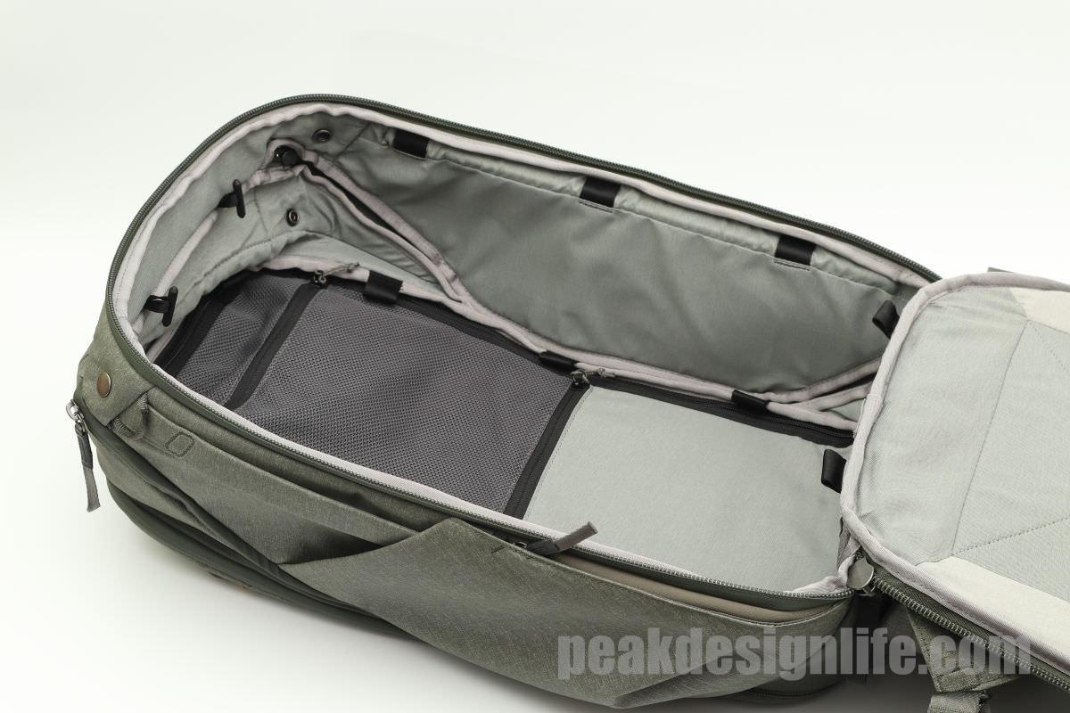 背面アクセストラベルバックパック45L Travel Backpack - Peak Design ピークデザイン