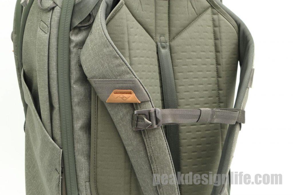 胸ベルト トラベルバックパック45L Travel Backpack - Peak Design ピークデザイン