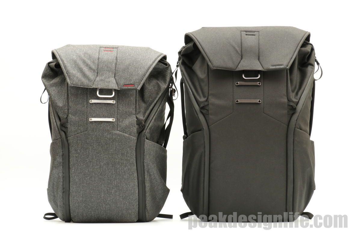 ピークデザインのカメラバッグ エブリデイバックパック Peak Design Everyday Backpack