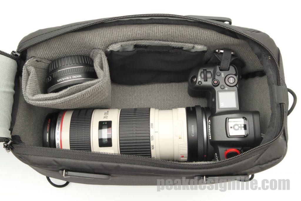 カメラキューブSの収納例