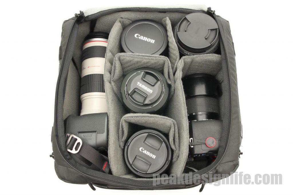 カメラキューブMの収納例