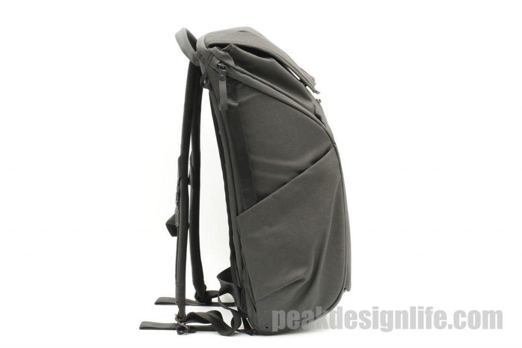 側面ピークデザイン エブリデイバックパック ブラック 30L