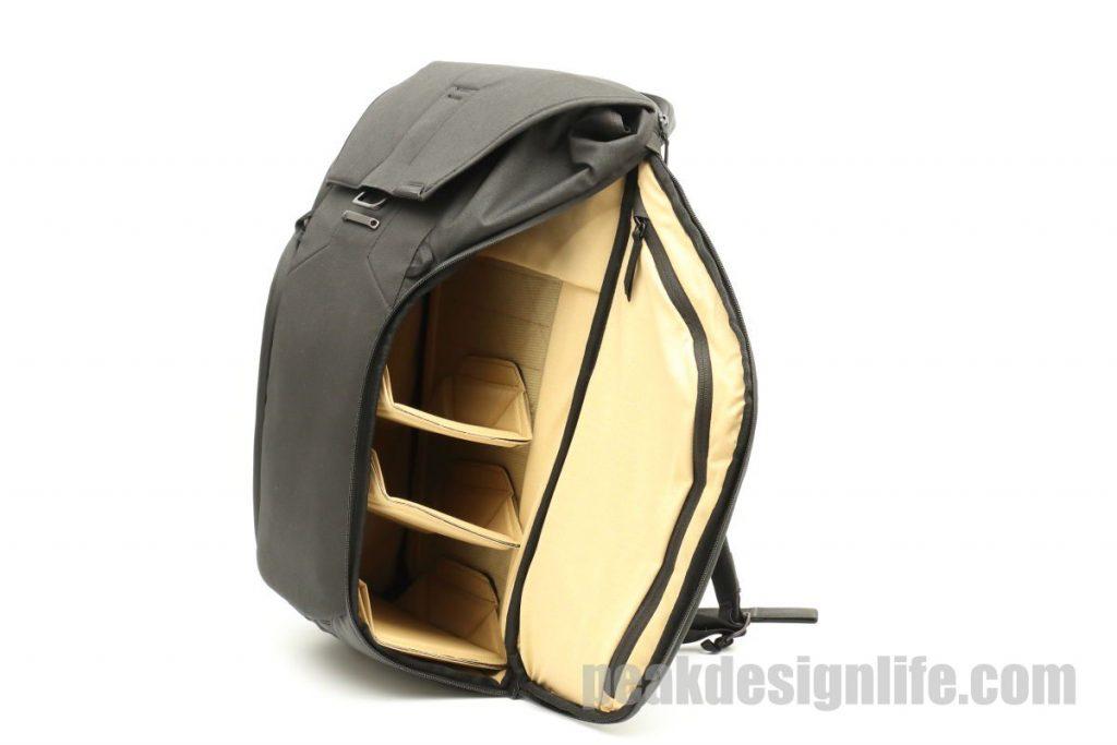 サイドポケット ピークデザイン エブリデイバックパック ブラック 30L