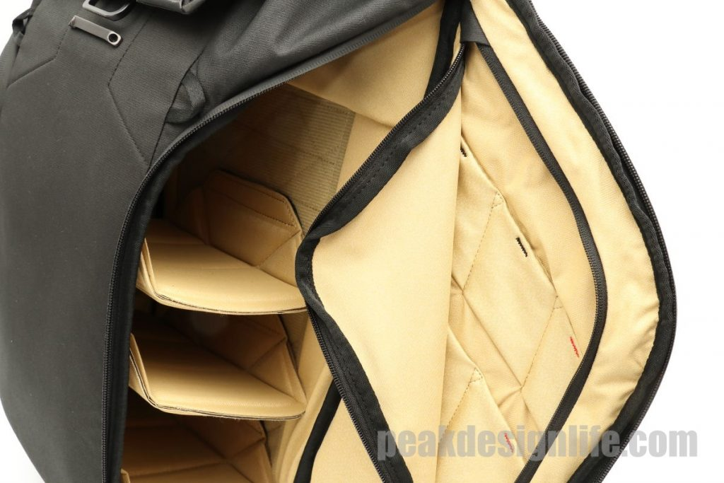 インナーポケット ピークデザイン エブリデイバックパック ブラック 30L