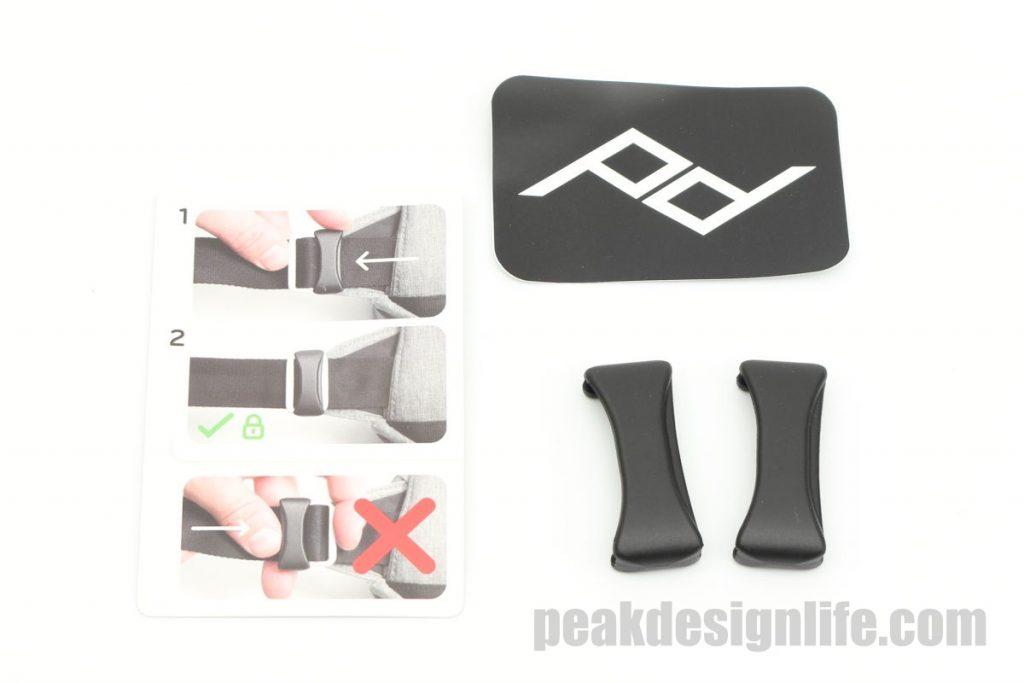 ストラップ滑り止めクリップ ピークデザイン エブリデイスリング5L セージ