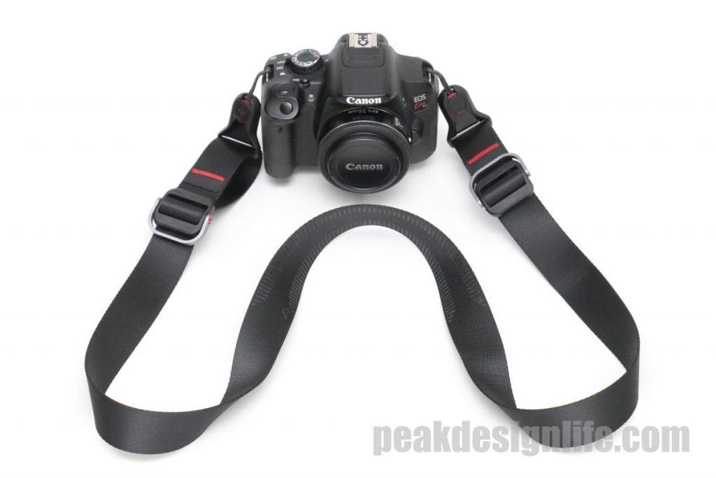 ピークデザインのスライドライトとカメラEOS Kiss X9
