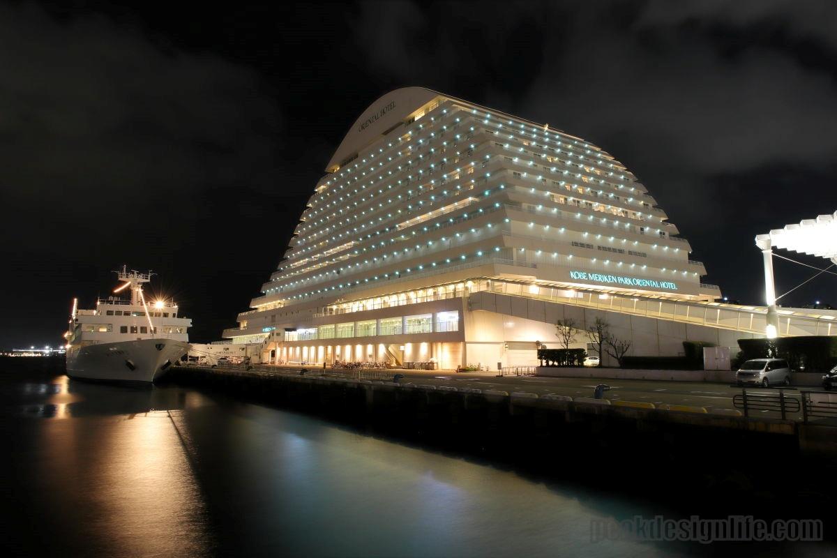 ピークデザインのトラベル三脚で撮影した夜景写真