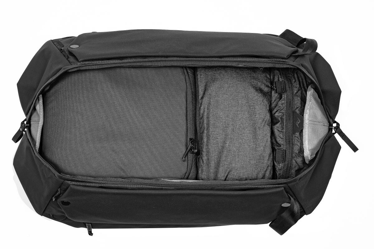 ブラック トラベルダッフルパック 65L TRAVEL DUFFELPACK - Peak Design ピークデザイン