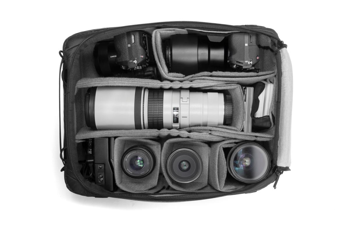 カメラキューブLの収納例