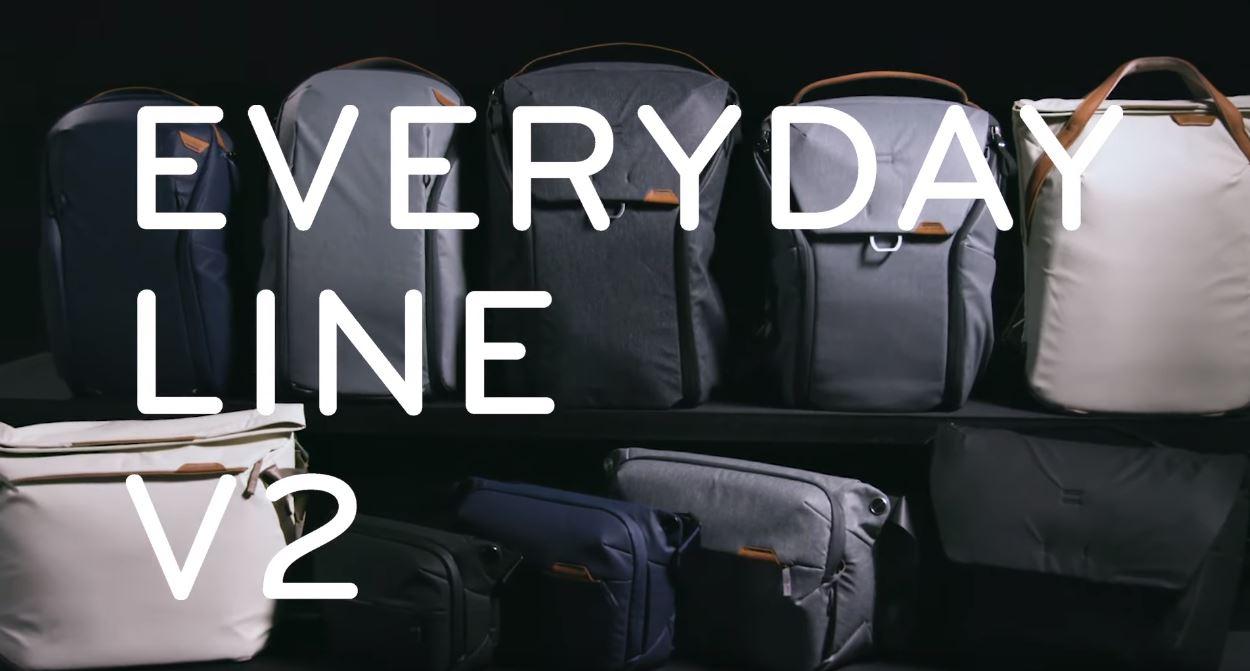 ピークデザイン エブリデイバッグ バージョン2 Peak Design Everyday Line V2