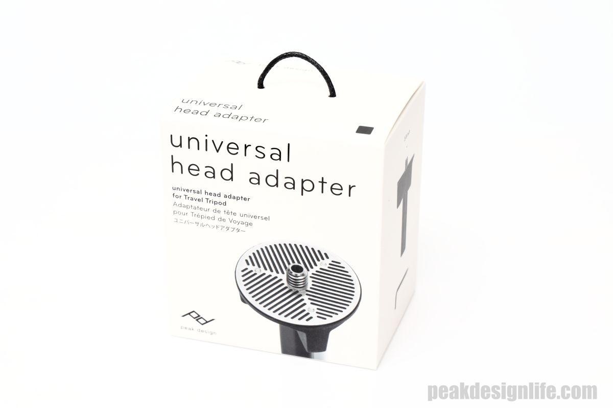 ユニバーサルヘッドアダプター UNIVERSAL HEAD ADAPTER – Peak Design ピークデザイン